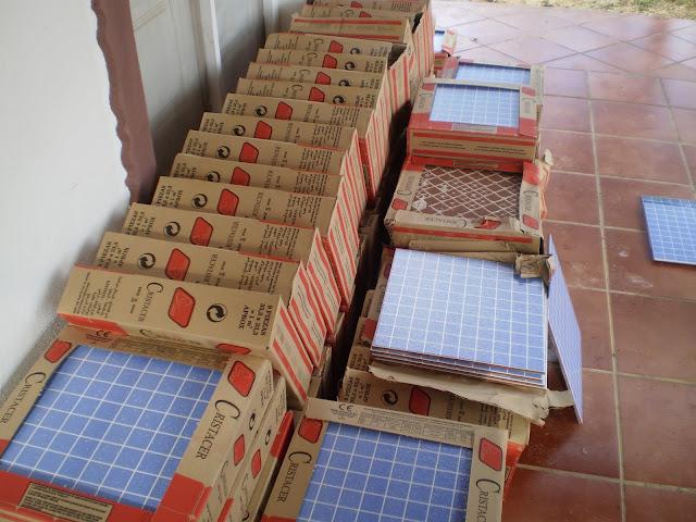El blog de la elena un blog dulce divertido y - Azulejo imitacion gresite ...