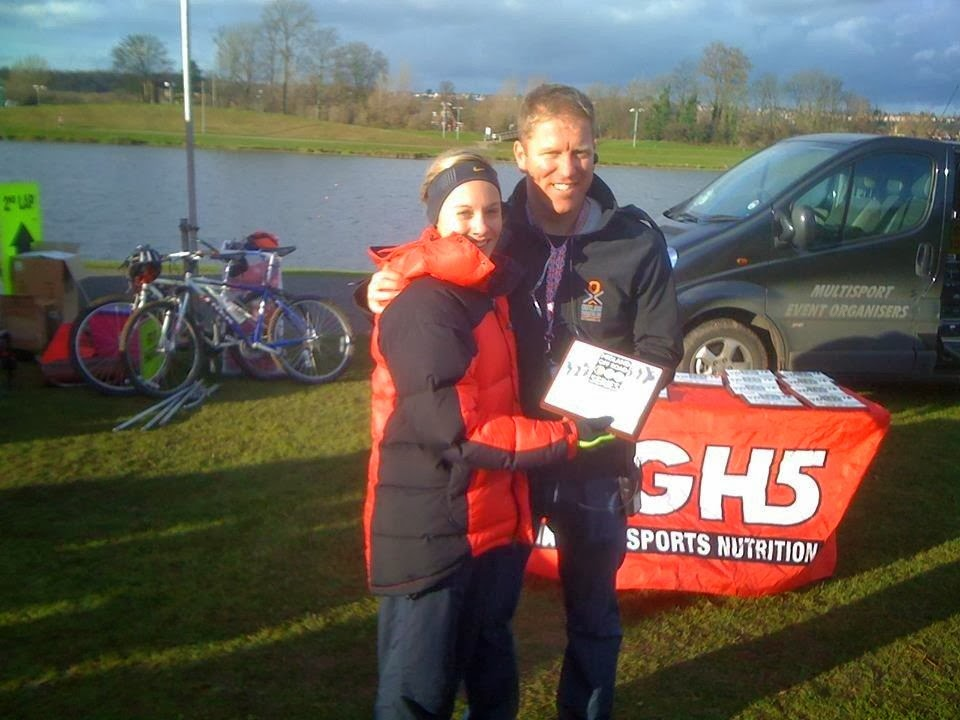 Off Road Duathlon Awards with Adam of One Step Beyond