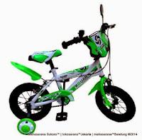 Sepeda Anak Kouan KB1203 Classic 12 Inci