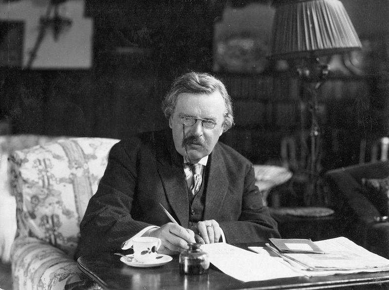 Gilbert Keith Chesterton (G.K.Chesterton)