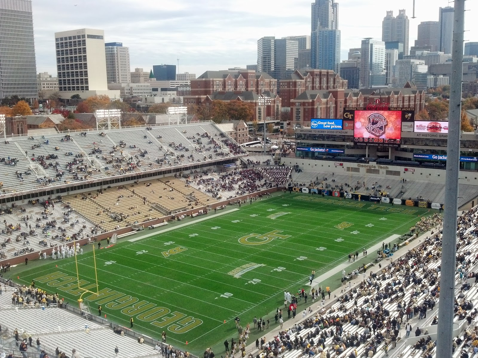 Georgia Tech Bobby Dodd Stadium Atlanta GA