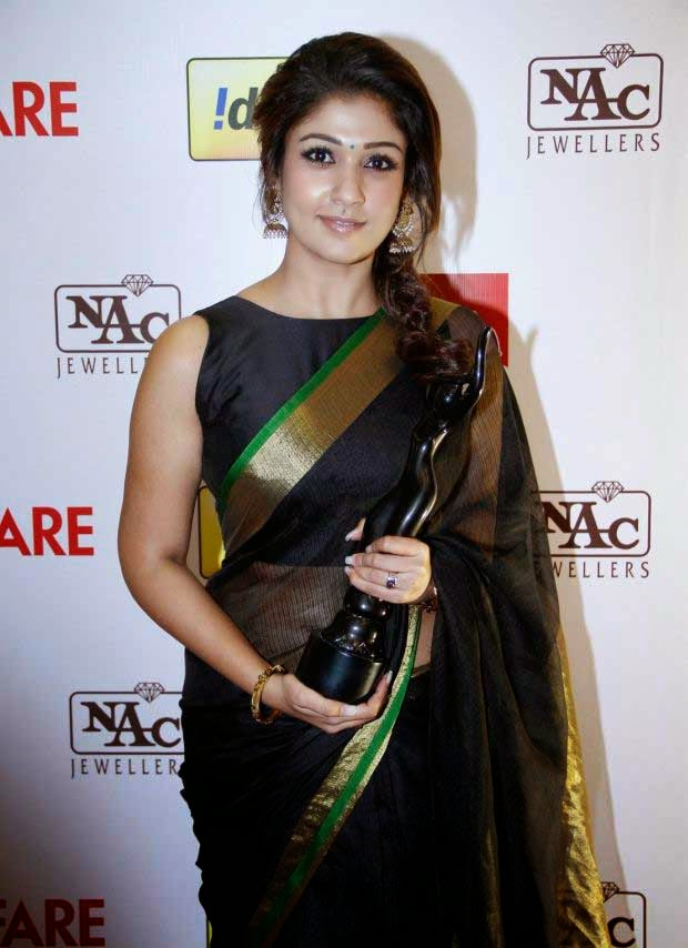 Nayantara at 61st Idea Filmfare Awards 2013 (South)