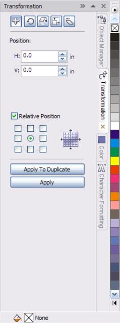 Position transform