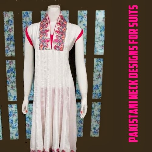 Pakistani Neck Designs for Shirts | Ladies Suits Necklines Collection 2014 - Clothing9Store.pk