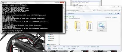 Proses Installasi CWM di Xperia SP