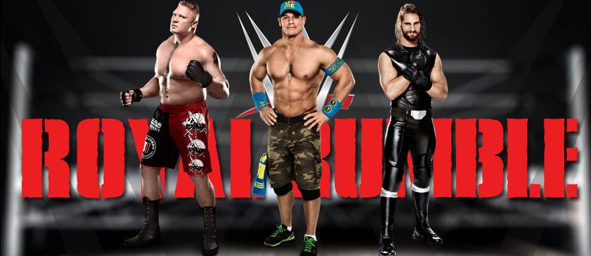 John Cena Defiende su campeonato mundial ante Brock Lesnar en Royal Rumble, combate no apto para cardiacos