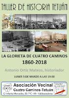 Taller Historia Tetuán: La Glorieta de Cuatro Caminos 1860-2018
