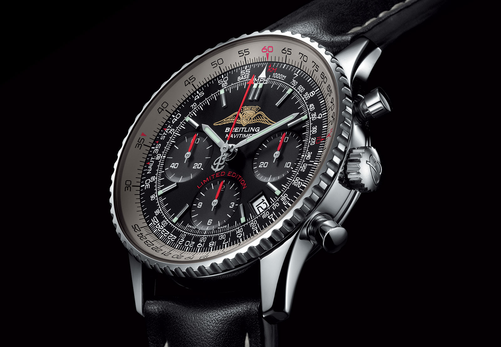 watches by sjx breitling pays tribute to history with the. Black Bedroom Furniture Sets. Home Design Ideas