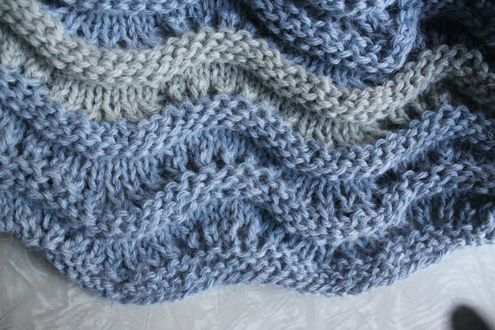 Knitting Stitches Waves : Everyday Life at Leisure: Waves of Texture