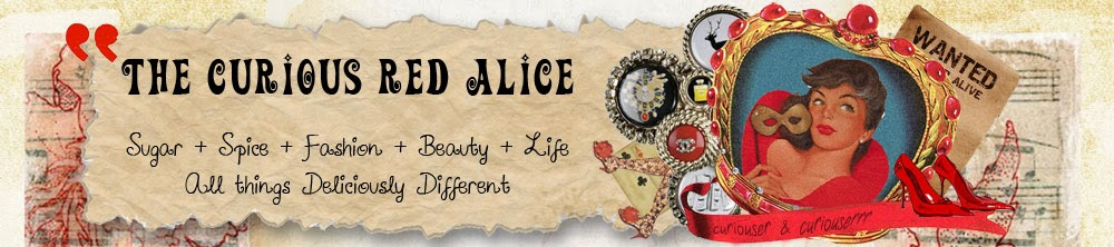 The Curious Red Alice