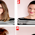 Big Top Knot Hairstyle Tutorial For Medium Lengh Hair