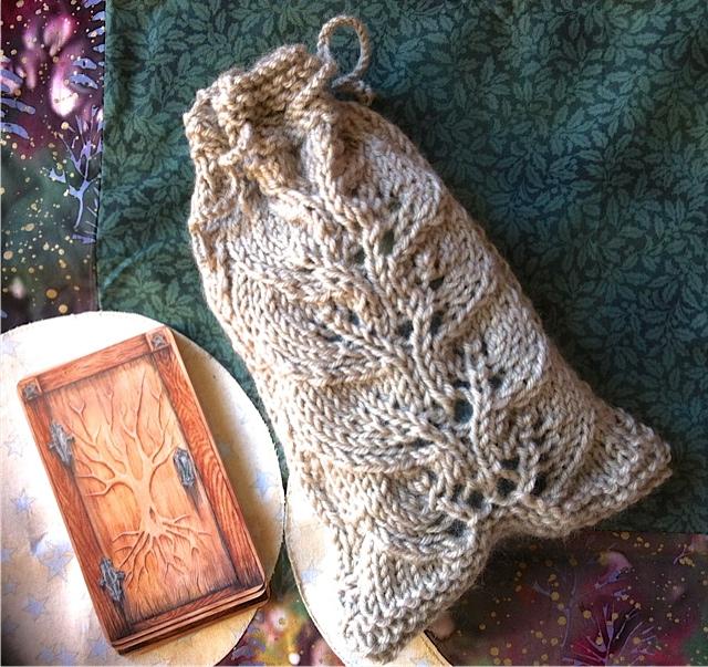 Knit Pattern Tarot Bag : The Tarot Bag: More Tarot Bags.....!