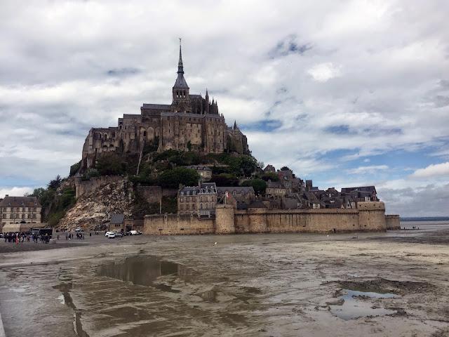 Cafe Chic Choc Le Mont-Saint-Michel, Normandia, Francja, 2015
