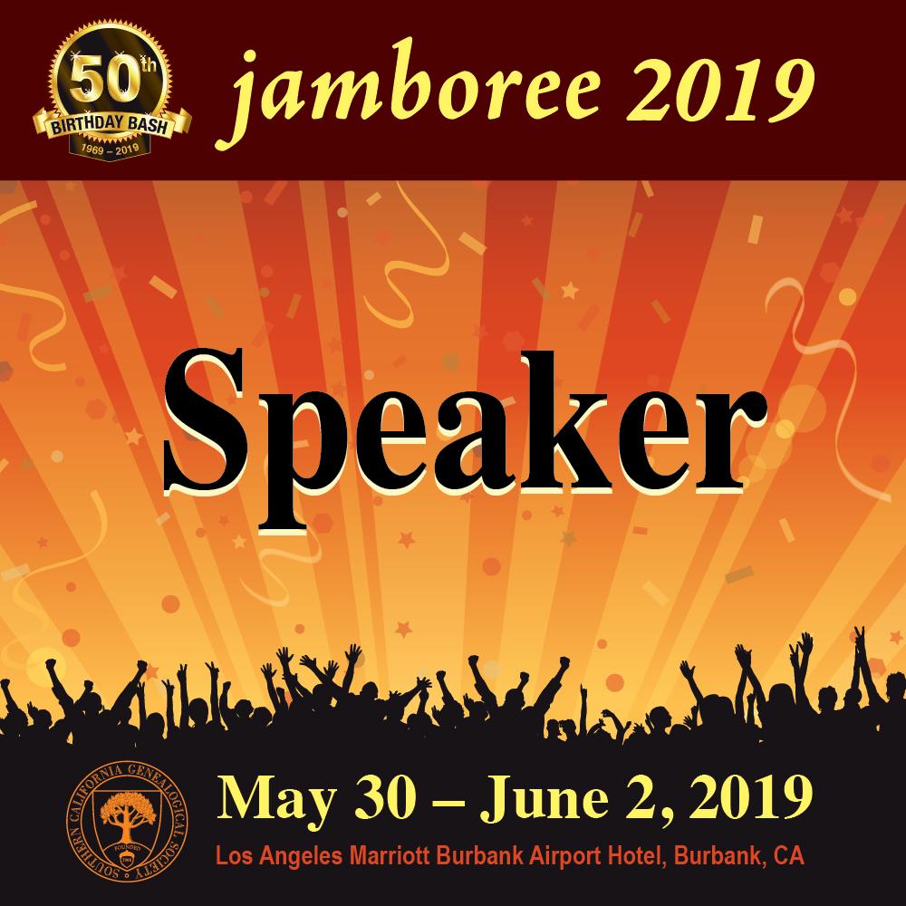 2019 Jamboree Speaker