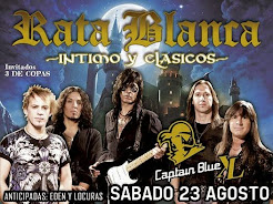 "RATA BLANCA EN ""CAPTAIN BLUE XL"" - 23/08/2014"
