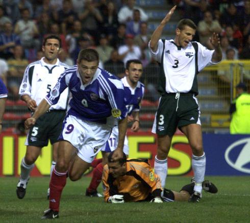7aa1512a45 Espanha e Jugoslávia eram apontadas como as duas favoritas à passagem aos  quartos-de-final