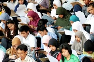 Tes CPNS. Kotabumi Lampung Utara