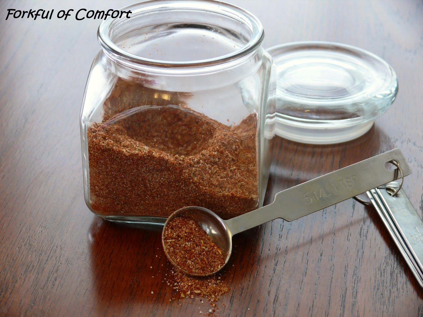 ... taco seasoning when most likely you already have all the spices you