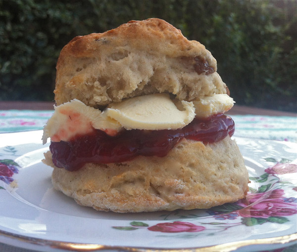Scones for Bolton Food and Drink 2012