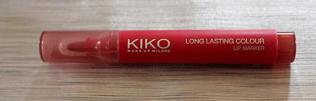 Long lasting color kiko