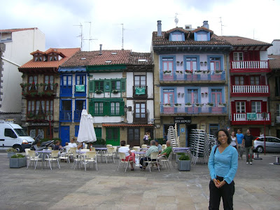 Hondarribi old town