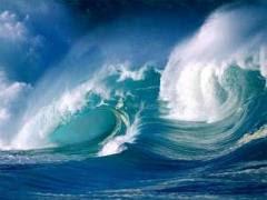 Samudra raksasa di bawah laut asia