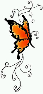 Tatoos y Tatuajes de Mariposas, parte 11