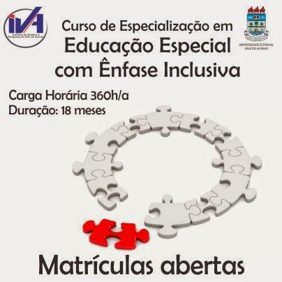 Especialização educação especial