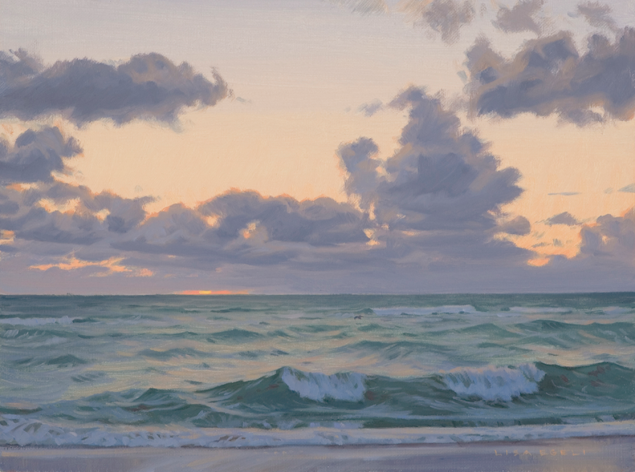 marine oil paintings: Lisa Egeli