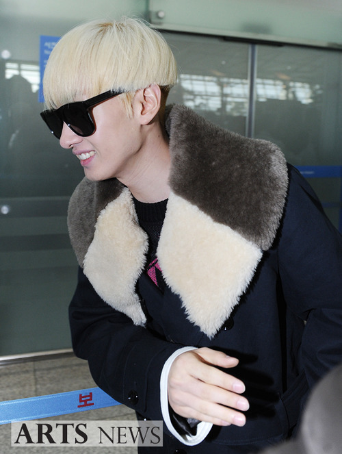 Foto Terbaru Super Junior Bandara Incheon 07