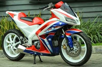 Foto Modifikasi Honda Blade Terbaru