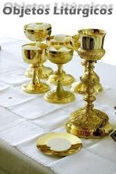 Clique aqui e conheça os nomes de alguns Objetos Liturgicos