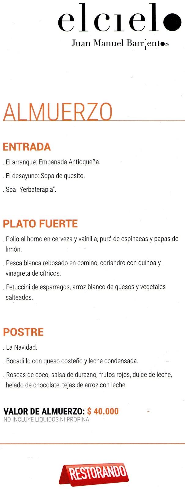 Food week en el cielo octavio prensa - Restaurante el cielo alicante ...