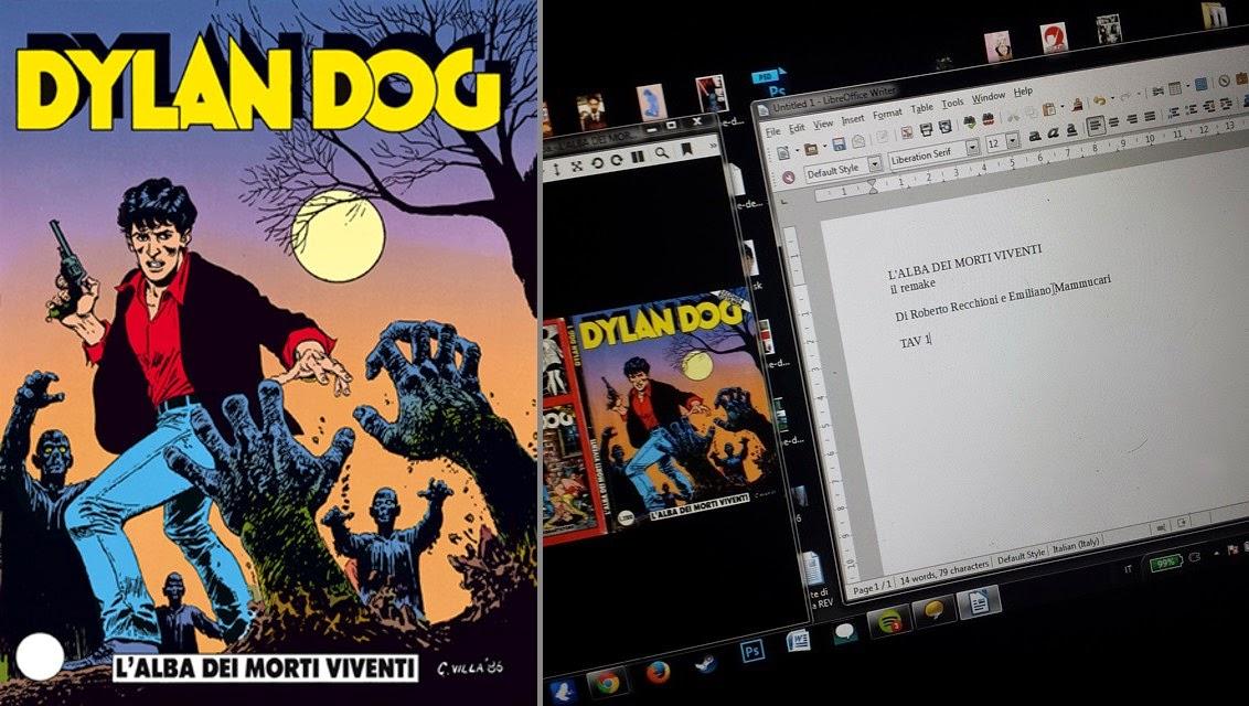 Dylan Dog #1 - L'alba dei morti viventi - remake Recchioni