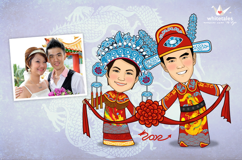 You can still get 50 OFF RM100 for Whitetales 39 Wedding Chinese Theme