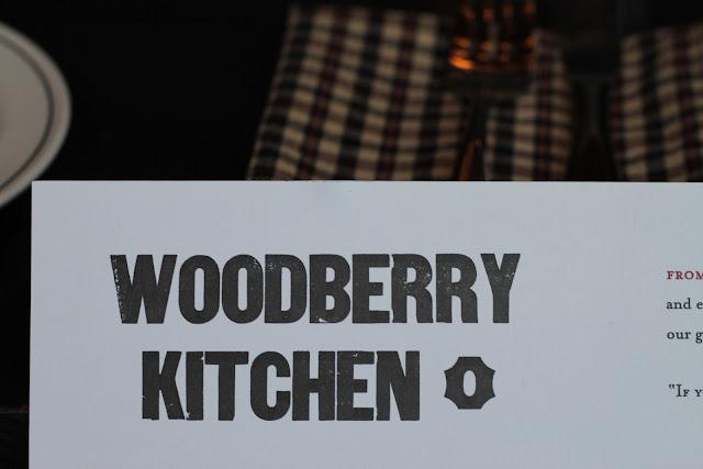 Woodberry Kitchen Brunch Menu