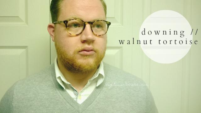 warby parker eyewear // downing, walnut tortoise