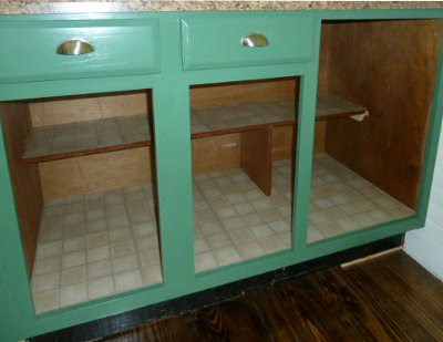 5 Acres & A Dream: Lining Cabinet Shelves Without Shelf Paper