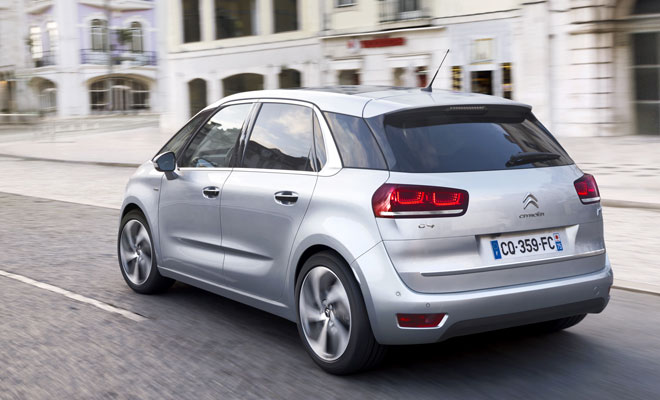 New Citroen C4 Picasso rear view