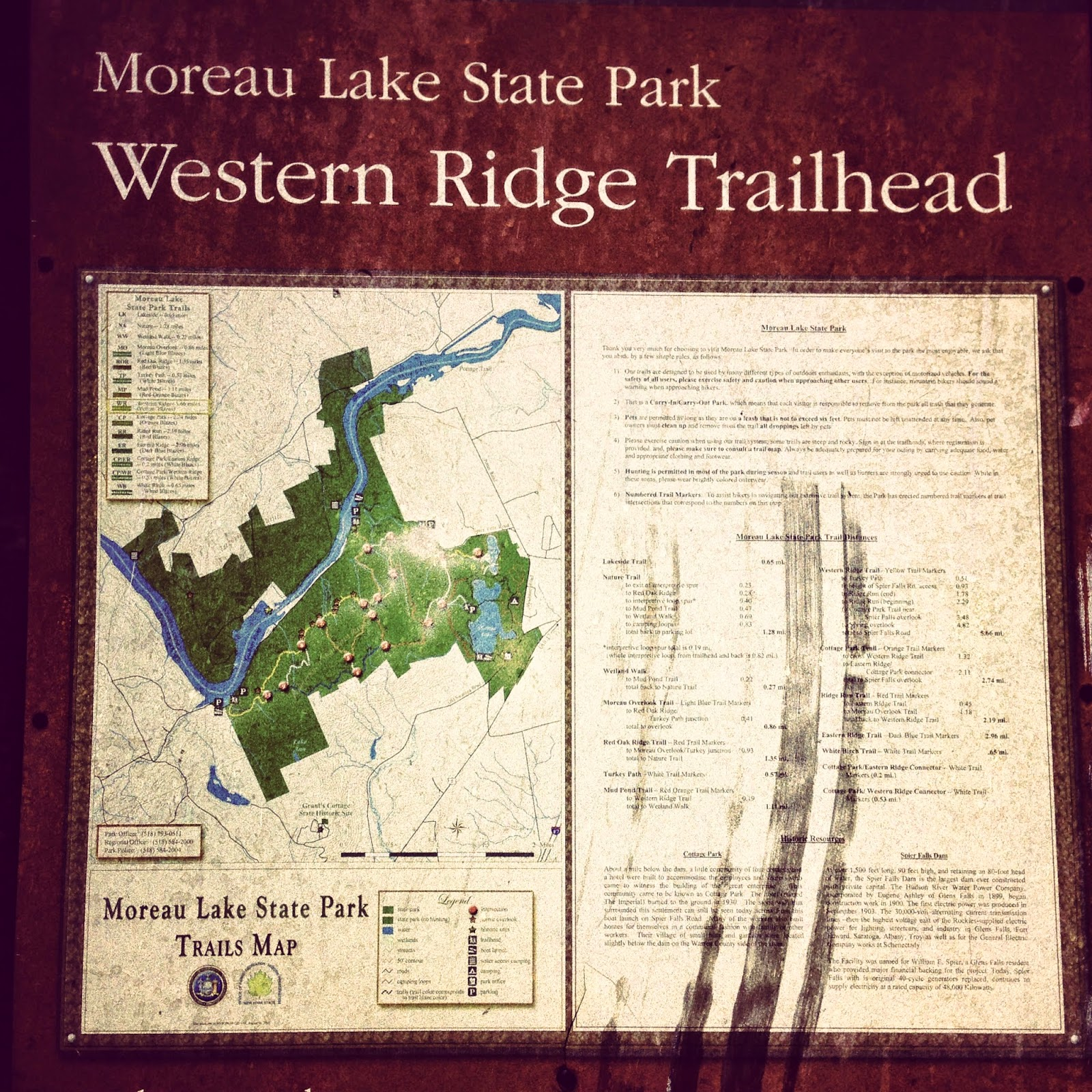 Western Ridge Trailhead