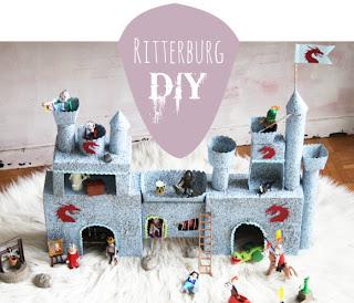Selbstgebaute Ritterburg - DIY