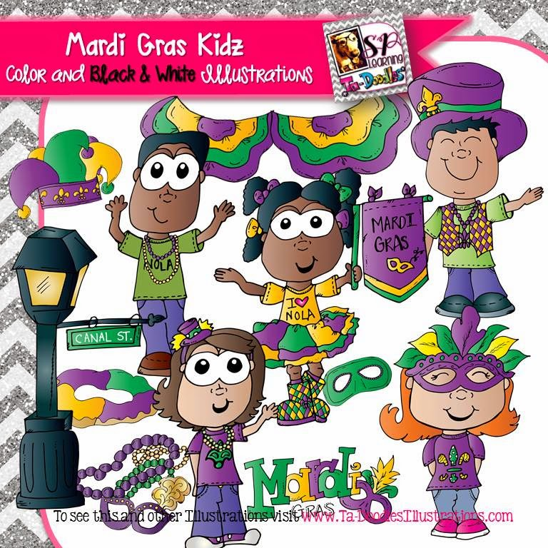 https://www.teacherspayteachers.com/Product/Mardi-Gras-Clip-Art-1699168