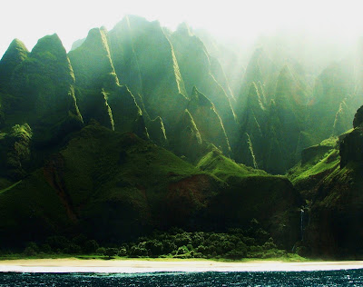 Na Pali Coast in Kauai Hawaii