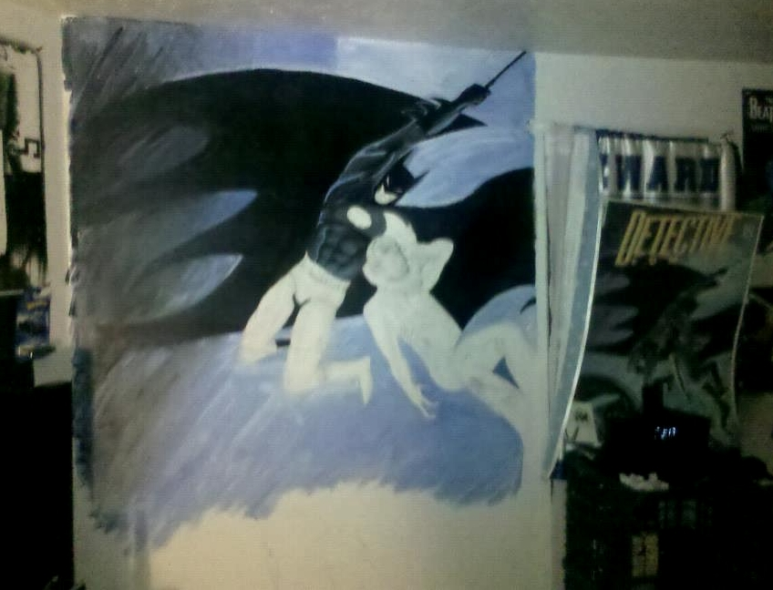 Bat blog batman toys and collectibles robert 39 s for Batman wall mural