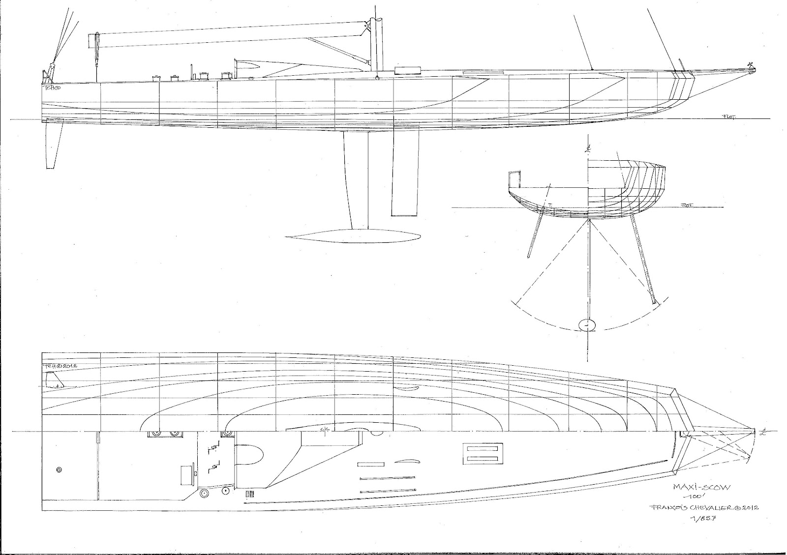 Download image Sailing Scow Plans PC, Android, iPhone and iPad