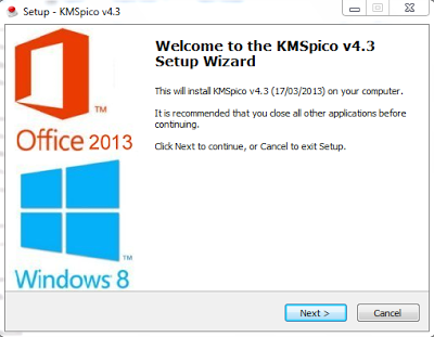 KMS Pico v4.3 Final, Activator For Windows Vista, 7, 8, Office 2010 and Office 2013