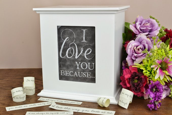 Creative Uses for Your Wedding Card Box with Free Printables – Picture Frame Wedding Card Box