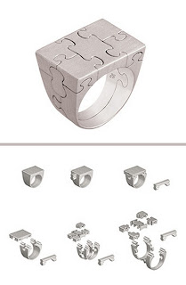 Puzzle Style Ring