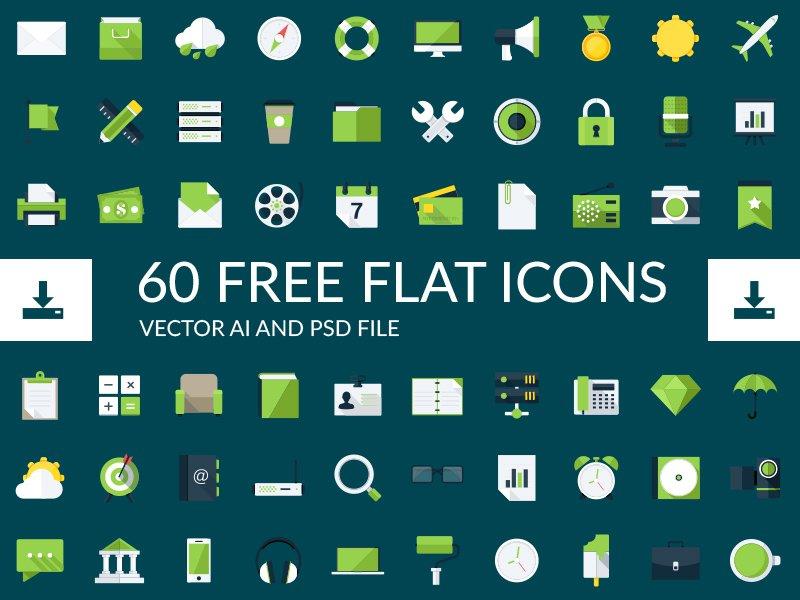 Ücretsiz Flat İkonlar