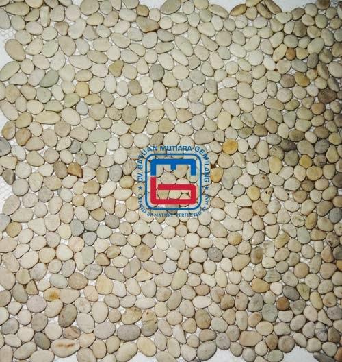 pebble tile pebbles tile island pebble stone tiles. Black Bedroom Furniture Sets. Home Design Ideas